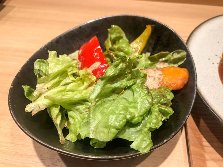 炉ばたやき 火富良 サラダ