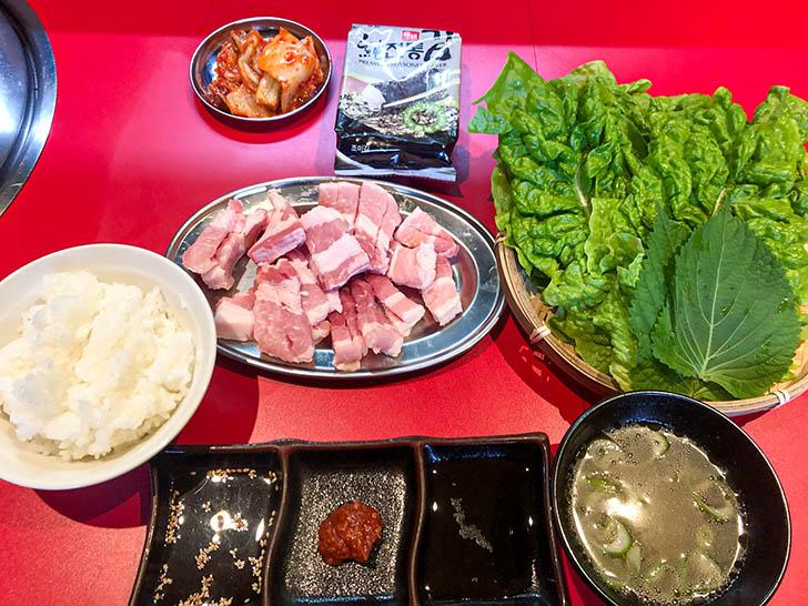 韓国焼肉7 サムギョプサル