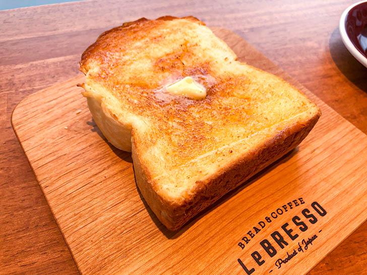 レブレッソ 金沢寺地店 厚切りバタートースト