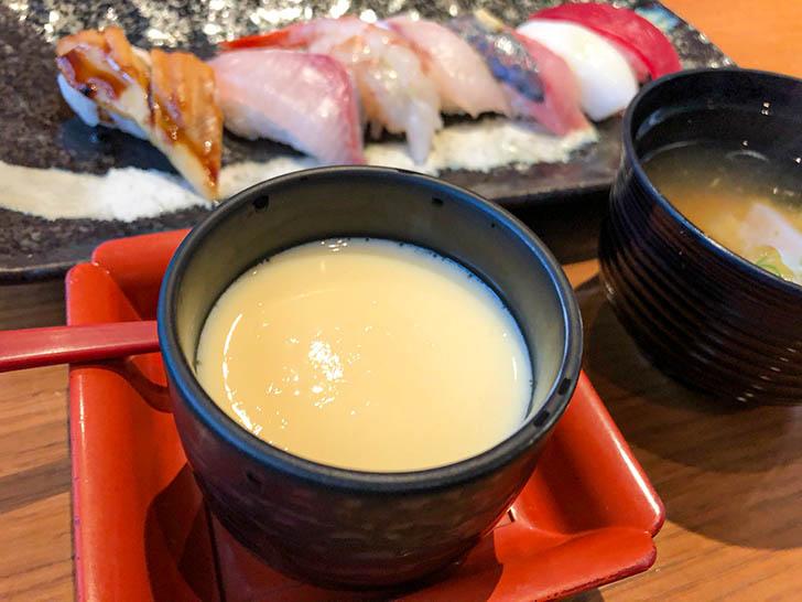 回転寿司 左衛門 なないろランチ 茶わん蒸し