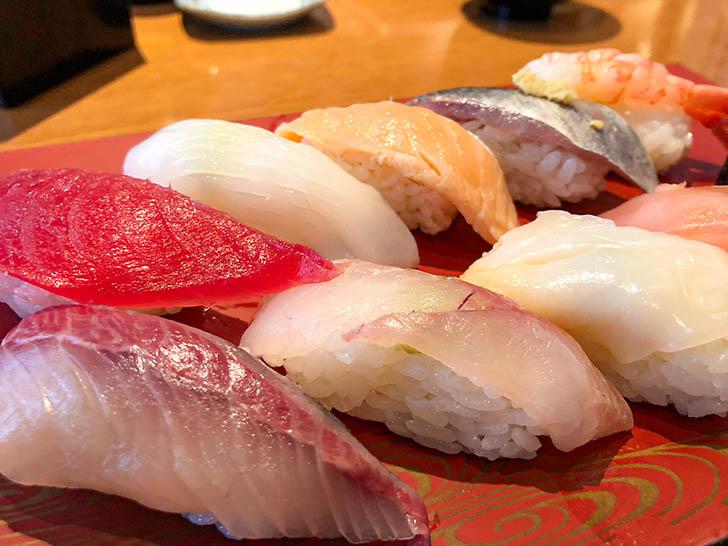回転寿司 左衛門 お寿司