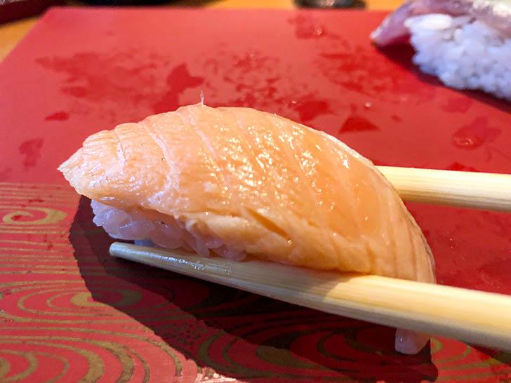 回転寿司 左衛門 サーモン