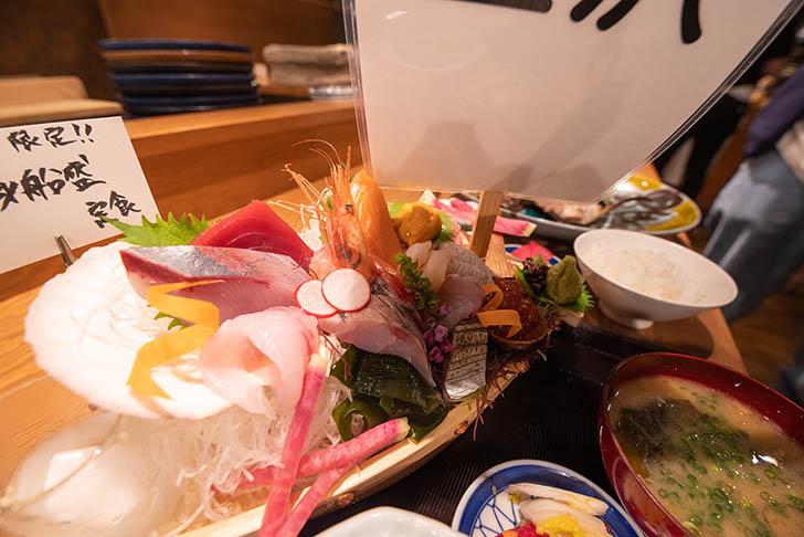 金沢炉端 あっぱれ 船盛り定食2