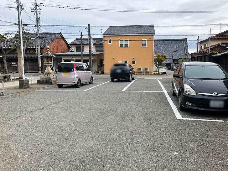 かにの居酒屋 弁吉 駐車場1