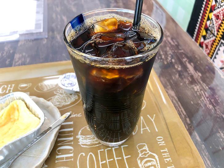cafe コイノニア アイスコーヒー