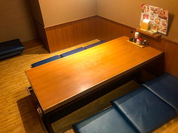 庄や ダイワロイネットホテル金沢店 個室席
