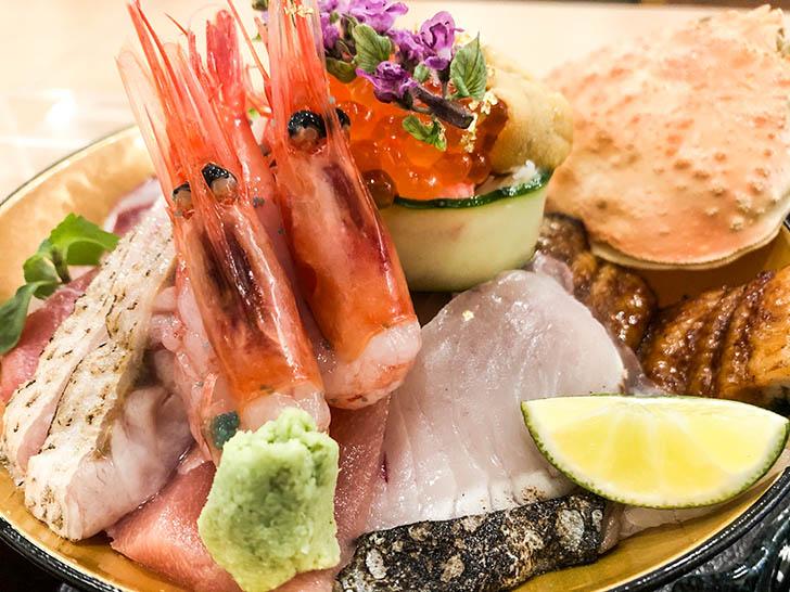 海鮮丼 ゆたか水産 刺身2