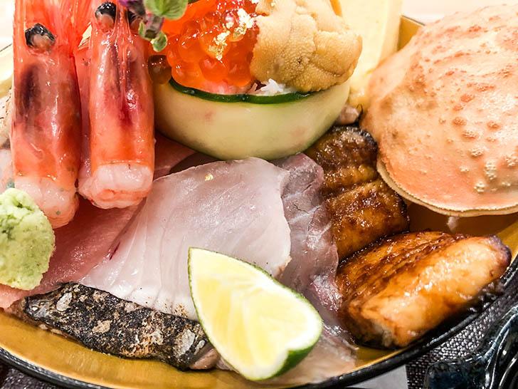 海鮮丼 ゆたか水産 刺身3
