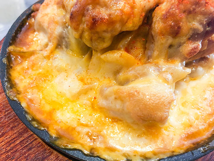 アンニョン たっぷりのチーズ