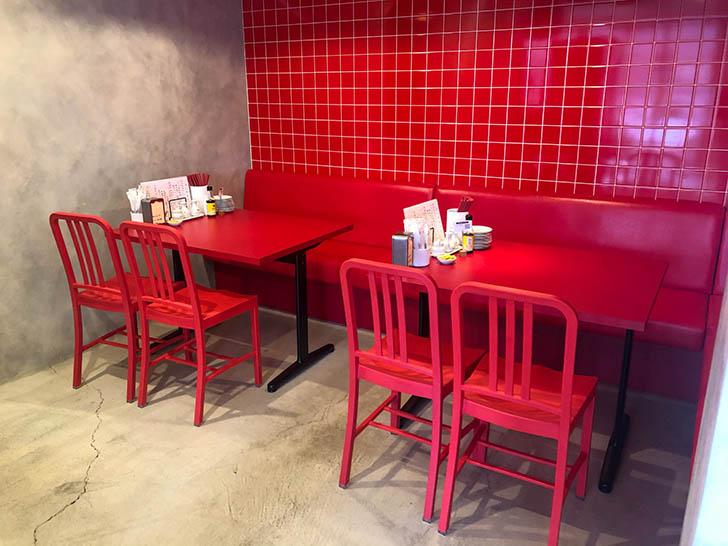 毎日中華 テーブル席2