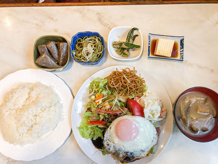 TeaRoom キャッスル ハンバーグ定食