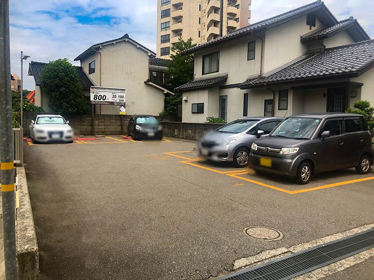 きみ屋 駐車場