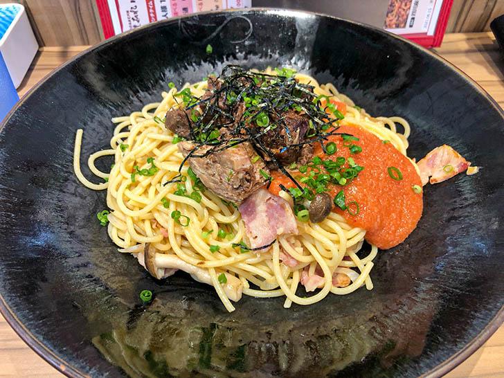 金沢肉食堂 別館 焼肉 肉まみれ 辛子明太子スパゲッティ