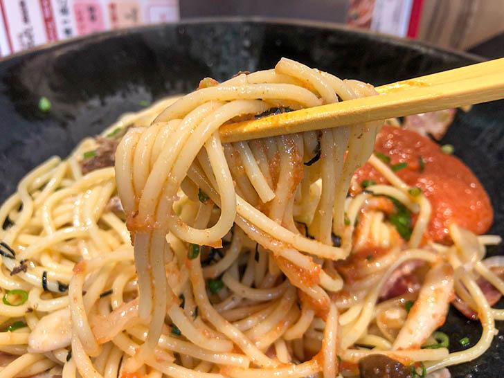 金沢肉食堂 別館 焼肉 肉まみれ 辛子明太子とスパゲッティ