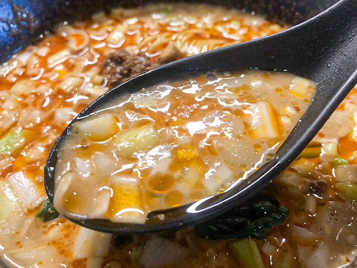 China dining 宮燕 ‐クーイン‐ 担々麺スープ