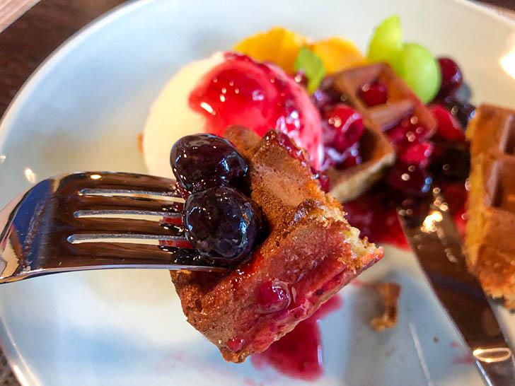 町屋cafe くりの樹 ブルーベリー