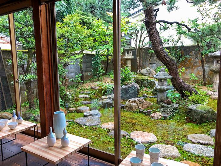 町屋cafe くりの樹 庭