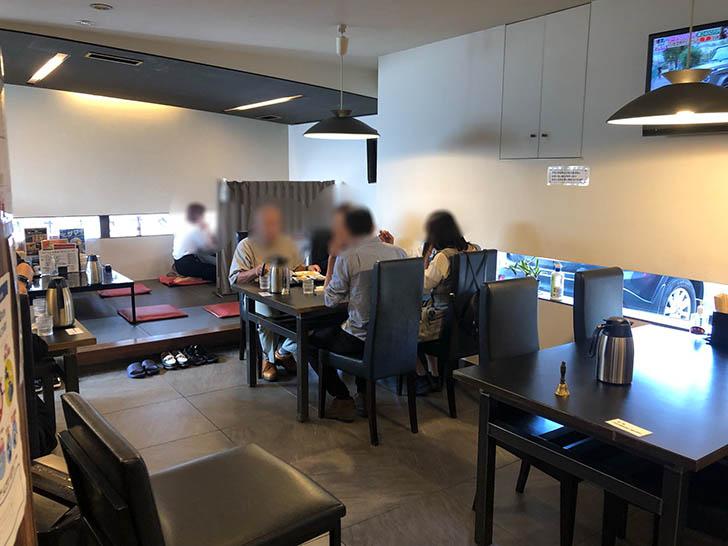龍苑 浅野本町店 テーブル席
