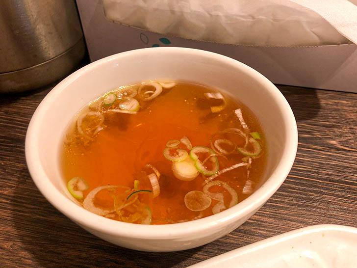 龍苑 浅野本町店 スープ